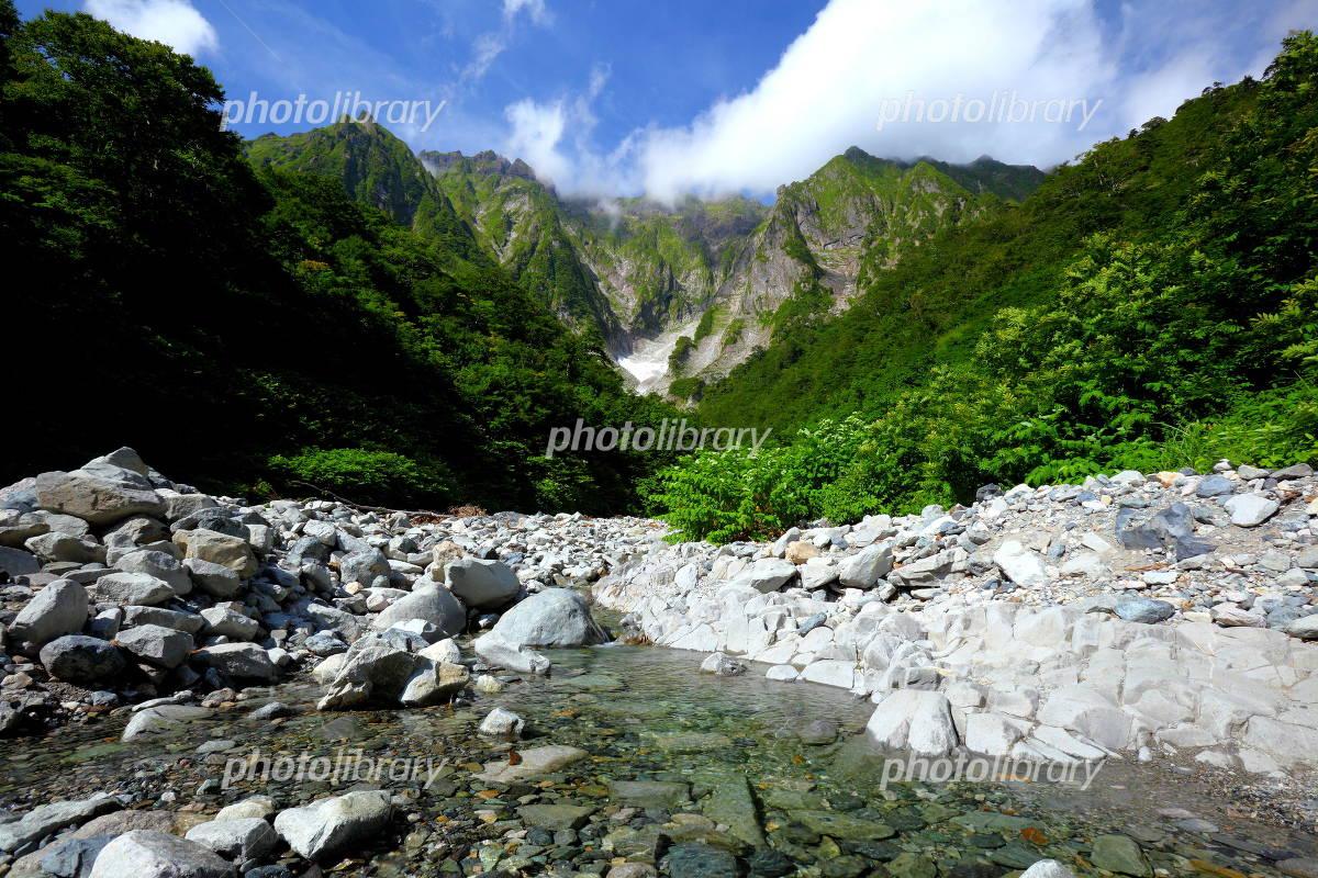 Tanigawadake Ichino Kurasawa mountain stream Photo