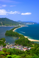 Amanohashidate stock photo