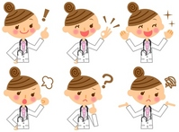 Doctor woman doctor illustrations [2127133] Doctor
