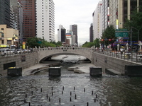 Photos of Seoul city of Cheonggyecheon Stock photo [2127373] Asia