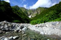 Tanigawadake Ichino Kurasawa mountain stream Stock photo [2129109] Green