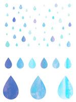 Droplets of illustrations [2129196] Drop