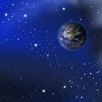 Galaxy and Earth [2130062] Earth