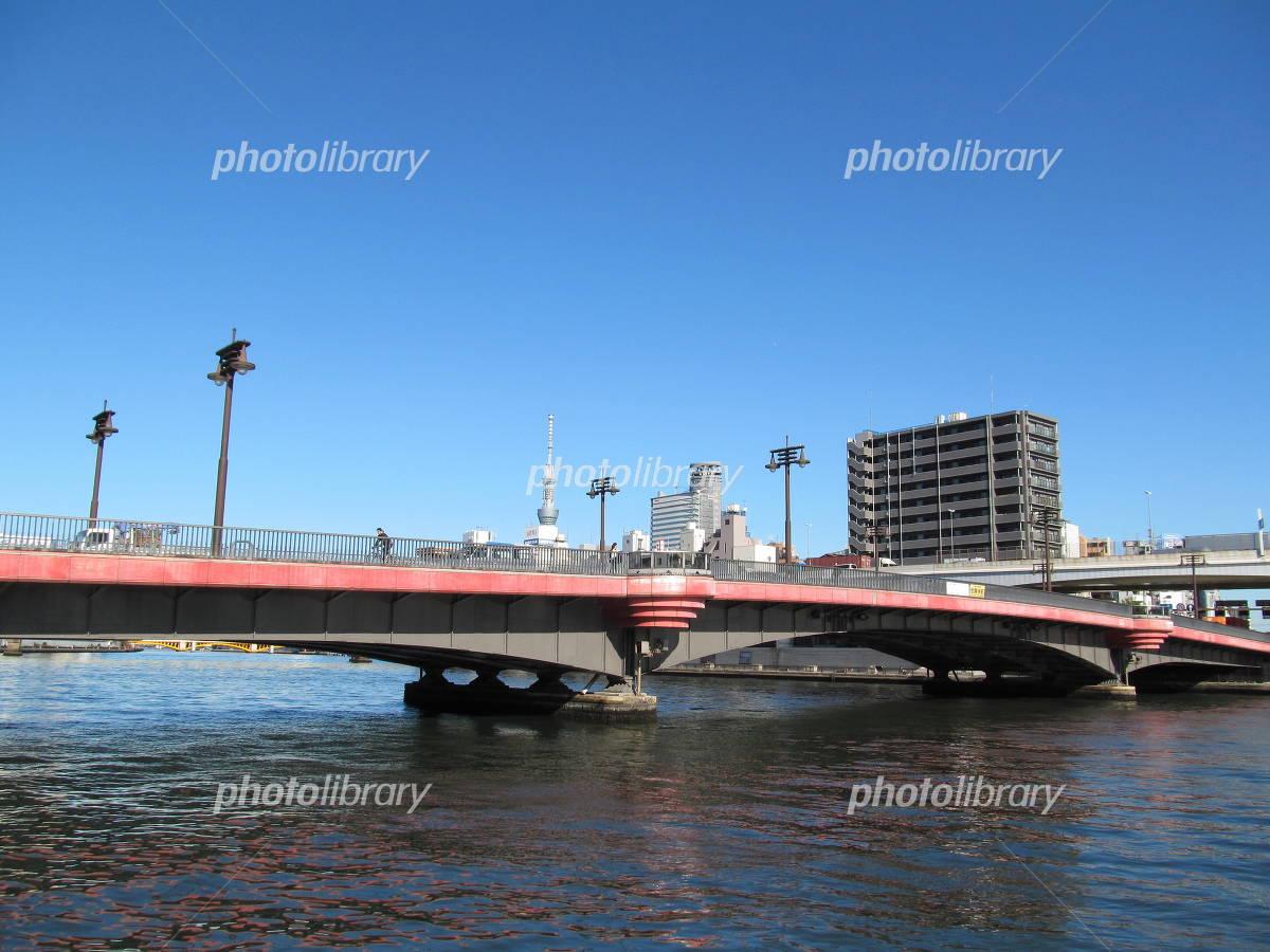 Ry���goku Bridge and Sky Tree Photo