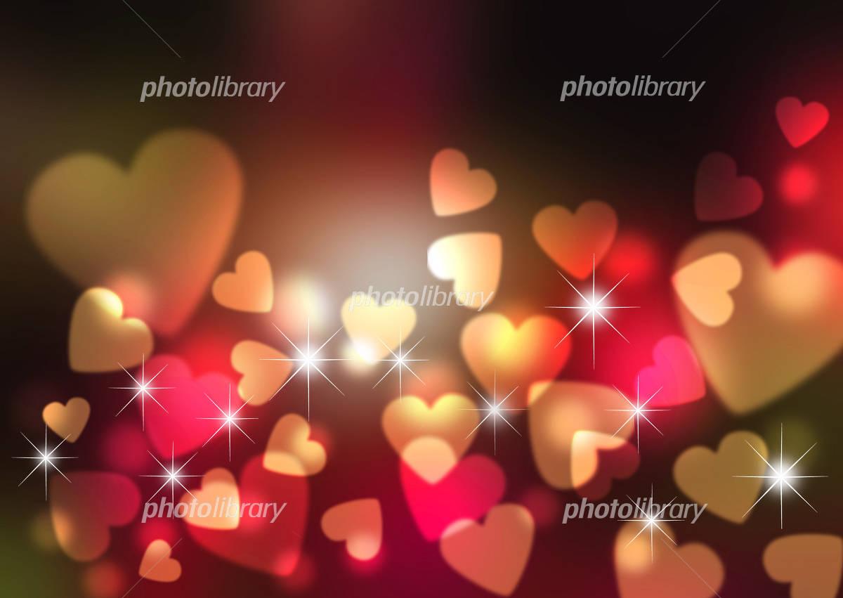 Heart background イラスト素材