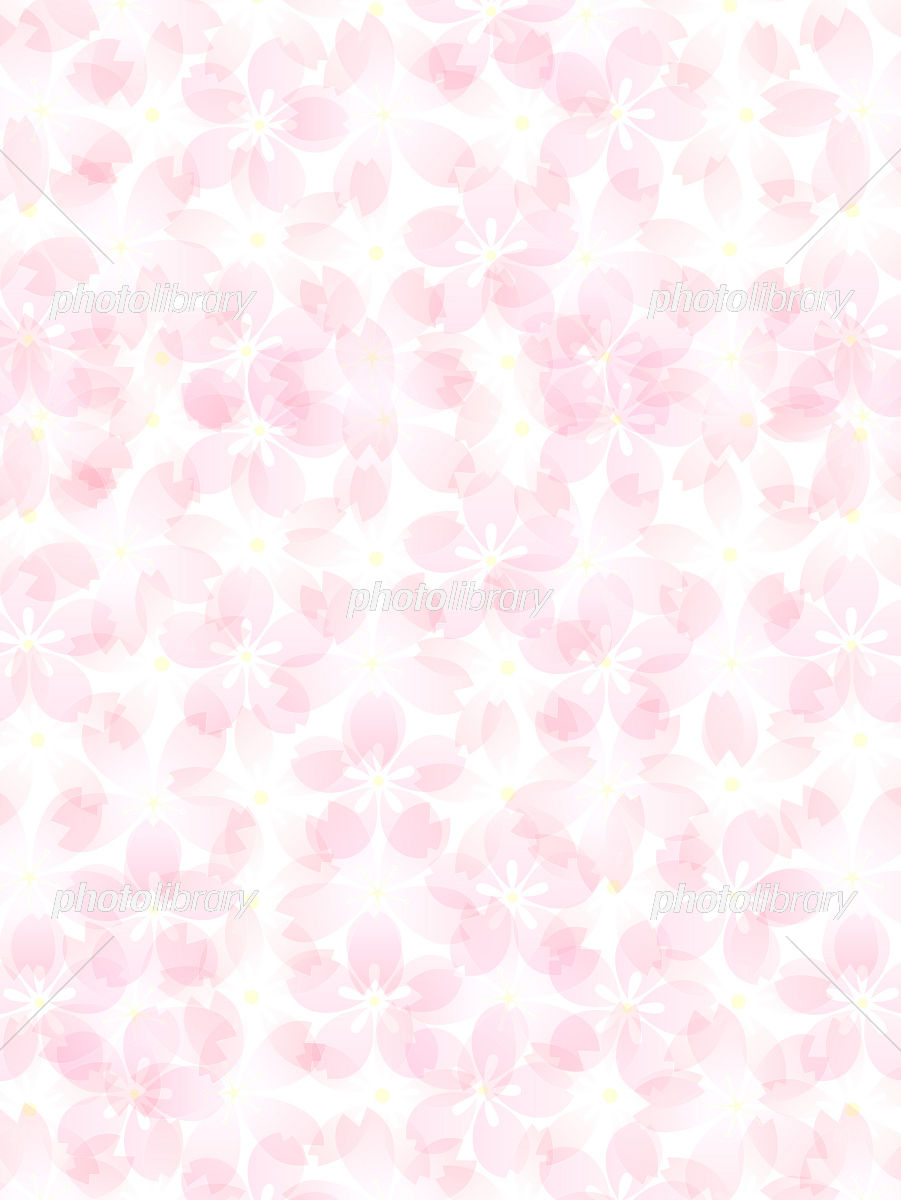 背景 さくら 桜 ピンク 春 イラスト素材 2248411 フォトライブ