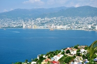 Sea and the city of Acapulco Stock photo [2233780] Acapulco