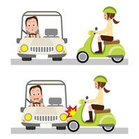 Inattentive driving traffic accident [2235047] Traffic