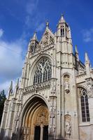 Brussels of Notre Dame du Sablon church Stock photo [2237624] Belgium