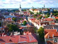 Tallinn skyline Stock photo [2240351] Estonia