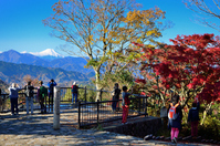 Fuji from the Mt. Takao