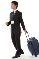 Businessman in business trip Stock photo [2241319] Business