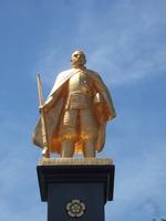 Nobunaga Oda image of Gifuekimae stock photo