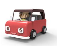 Red car [2242741] 3D
