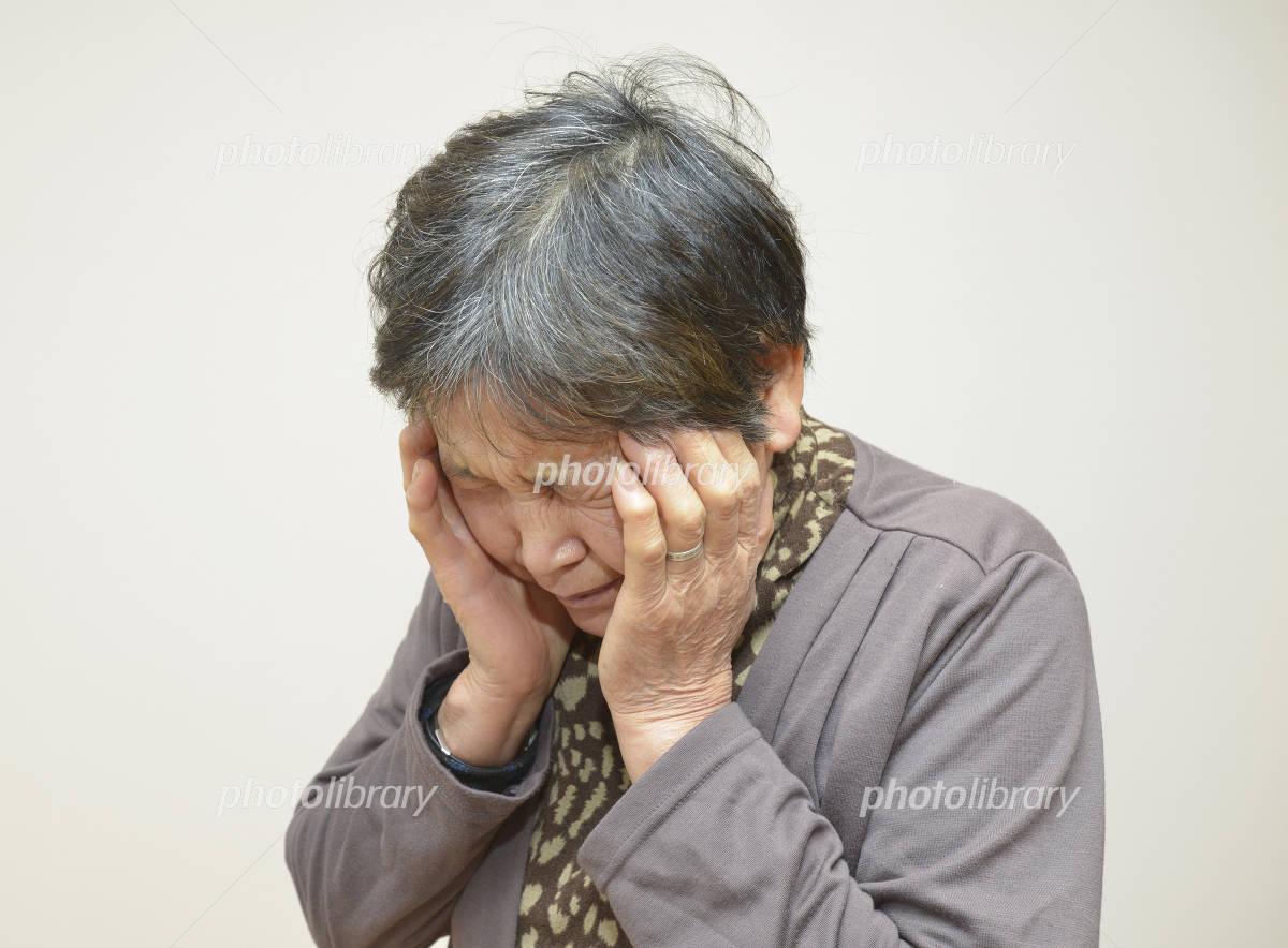 Women headache Photo