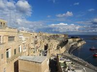 Valletta city that faces from Upper Barracca Garden Stock photo [2360878] Valletta