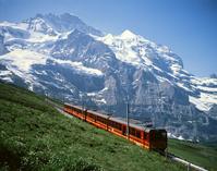 Jungfraujoch and mountain railway world heritage Stock photo [2361025] Jungfraujoch