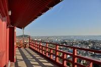 崖観音舞台からの眺望