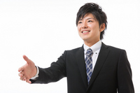 Businessman handshake Stock photo [2366949] Business
