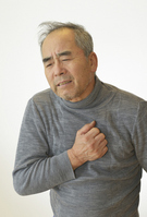 Chest hurts men Stock photo [2367935] Man