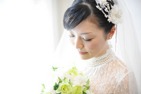 Bride wedding wedding dress Stock photo [2370364] Wedding