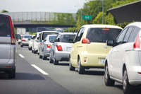 Congestion of highway Stock photo [2370960] Rides