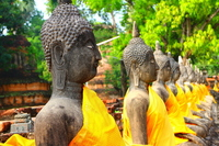 Thailand Ayutthaya Wat Yai Chai Mongkol Stock photo [2374920] Ayutthaya