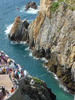 Cliff diving in Acapulco Stock photo [2375750] La