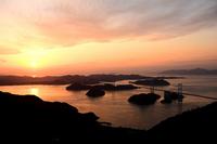 しまなみ海道の夕暮れ