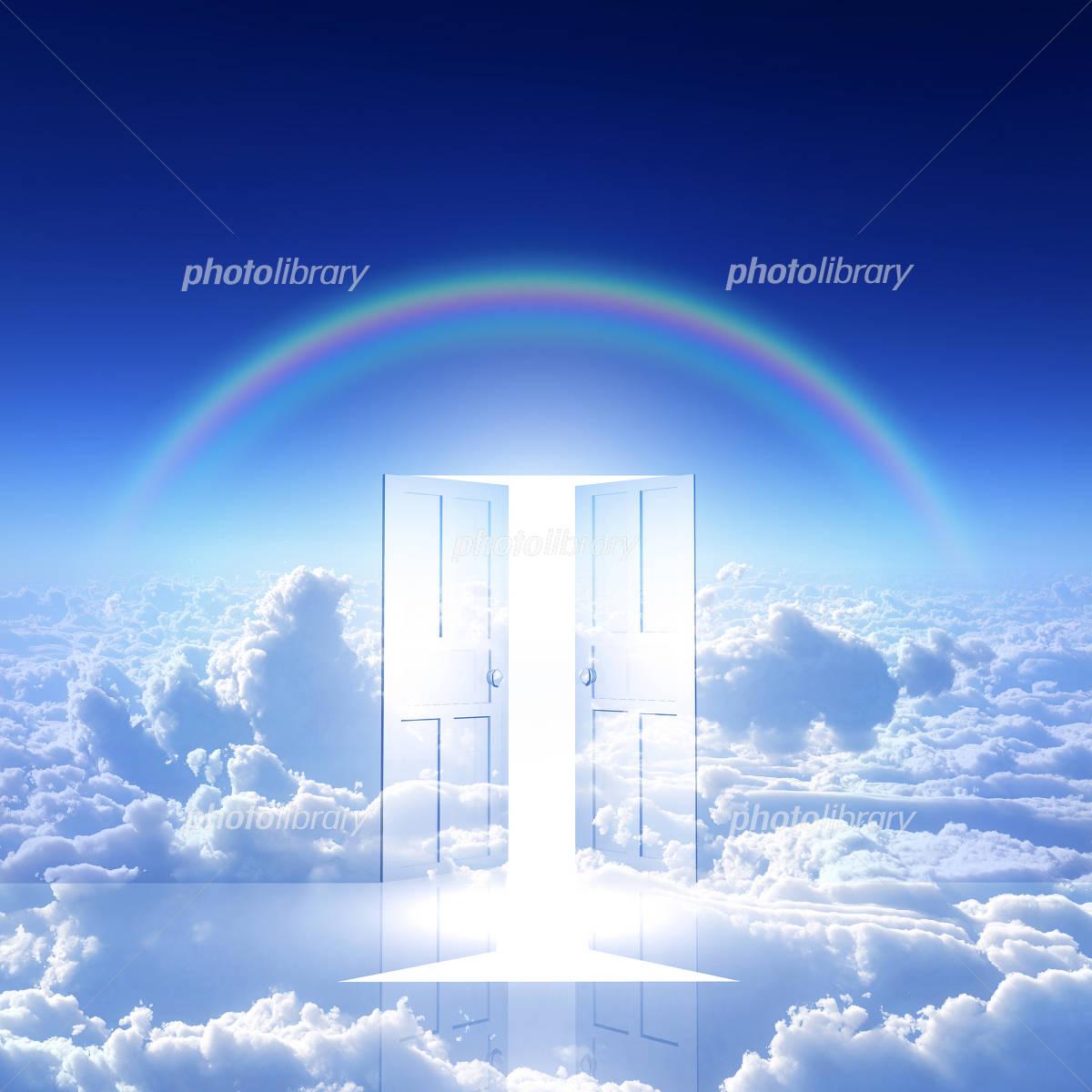 開くドアと希望の光 イラスト素材 4387529 フォトライブラリー
