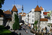 Tallinn's Old Town Ville Gate Stock photo [2482035] Talin