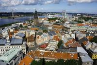 Riga skyline Stock photo [2485121] Riga