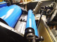 Letterpress printing machine roller Stock photo [2485453] Printing