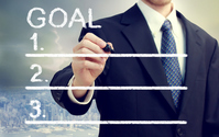Businessman and goals Stock photo [2488986] Business