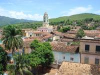 Streets of Cuba ancient capital Trinidad Stock photo [2489579] Cuba