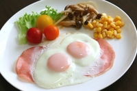 Ham and eggs Stock photo [2490284] Ham