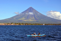 Mayon Volcano in the Philippines Stock photo [2491642] Mayon