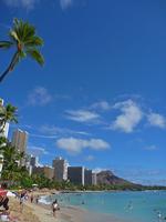Honolulu Waikiki Beach Stock photo [2491886] America