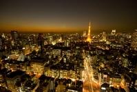 Tokyo Tower and Minato night view Stock photo [2493397] Tokyo