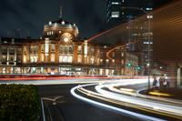 Tokyo Station night view Stock photo [2495165] Tokyo