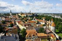 Estonia Tallinn skyline Stock photo [2496375] Estonia