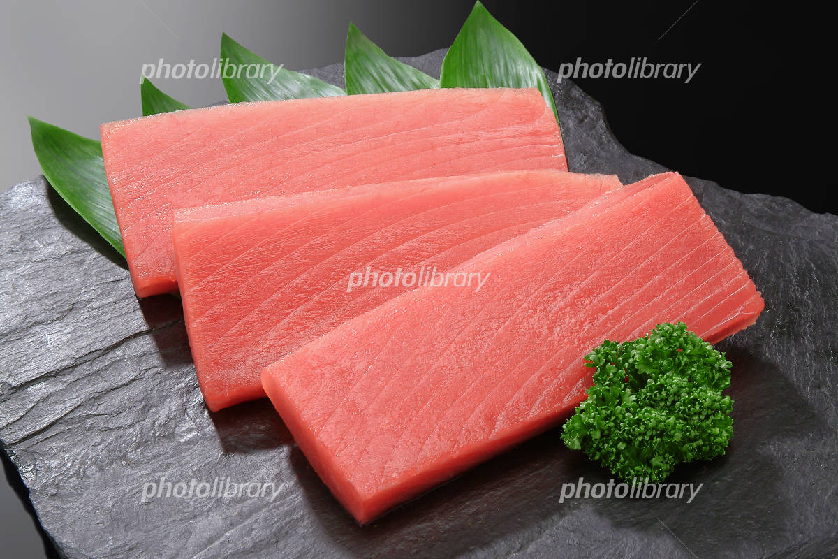 Tuna sashimi books Photo