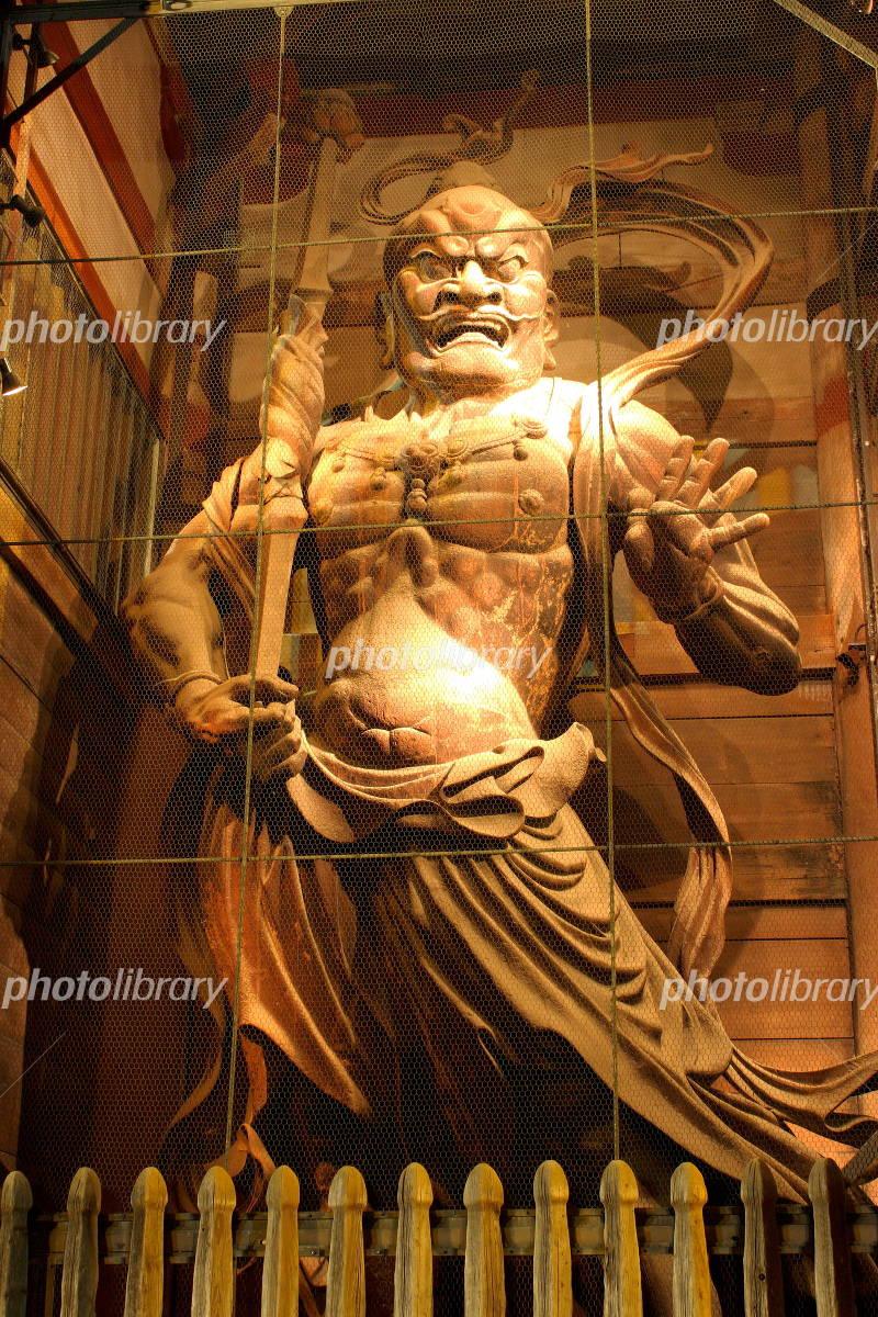 東大寺南大門 金剛力士像 阿形の写真
