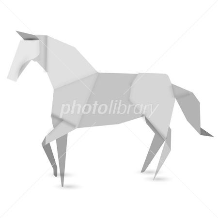 ハート 折り紙 折り紙 馬 : photolibrary.jp