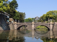Former Edo Castle Nijubashi Stock photo [2616298] Double