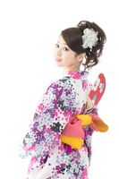 Yukata Stock photo [2621314] Person