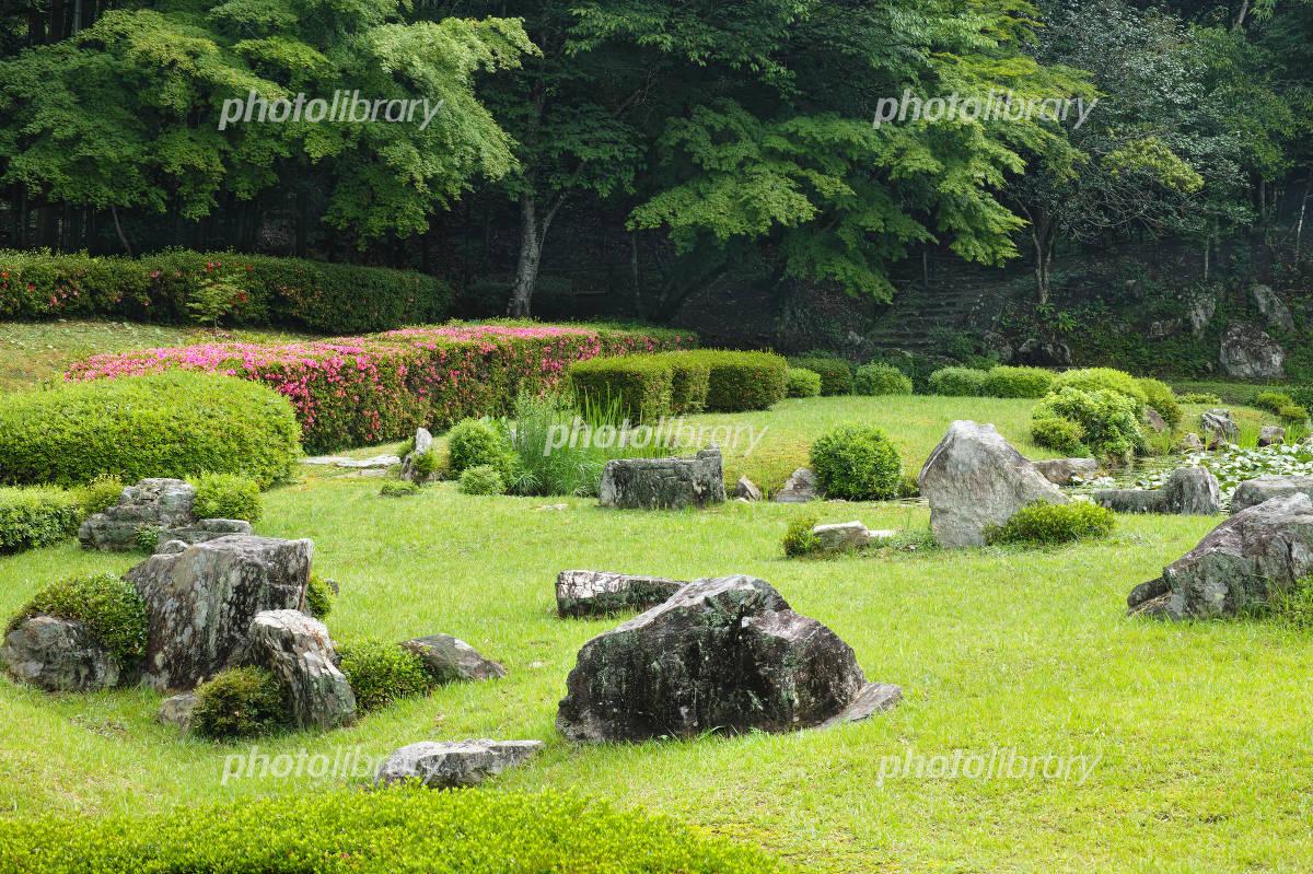 常栄寺雪舟庭 庭園 写真素材 [ 2708062 ] - フォトライブラリー ...