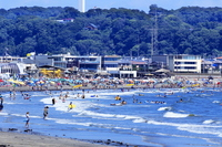 Shonan coast beaches Stock photo [2703799] Yuigahama