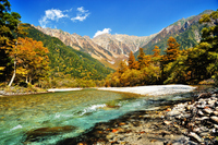 Autumn Kamikochi Stock photo [2708491] High