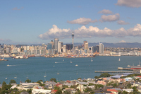 Auckland skyline to look at from Devonport Stock photo [2709356] Auckland